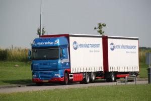 Compleetladingen van 39 pallets in euroformaat