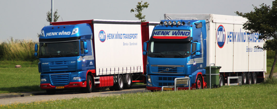 Transport van en naar Denemarken